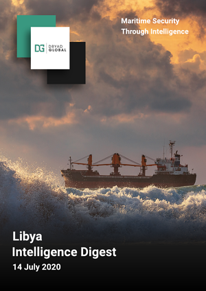Libya Weekly Intelligence Digest -front cover
