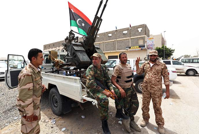 Libyan-troops