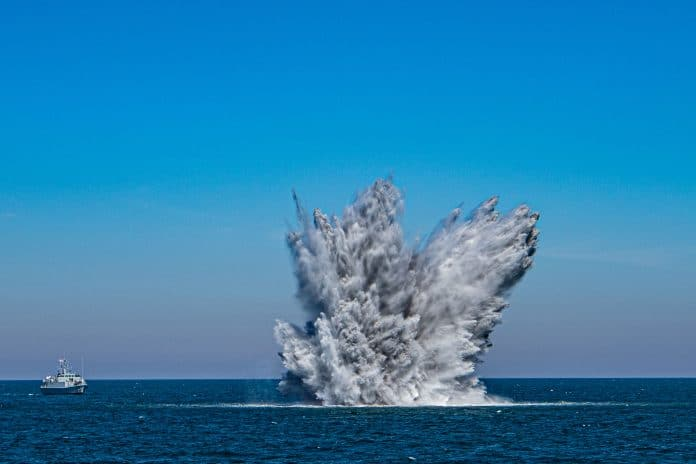 sea mines threat to maritime security